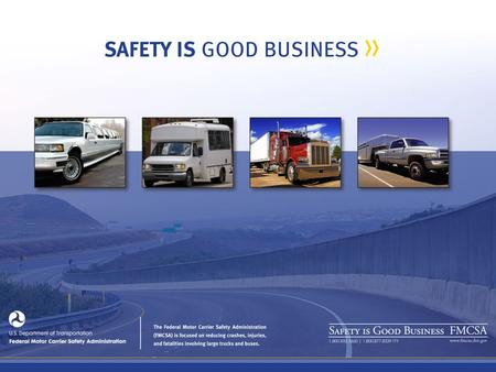 Reduce Crashes Injuries And Fatalities Involving Large Trucks And Buses August 2013 Washington