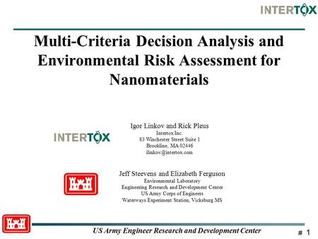 So What Can We Do With Nano Informatics - Ppt Download