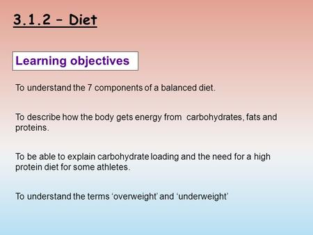 What Are the Effects of an Unbalanced Diet?