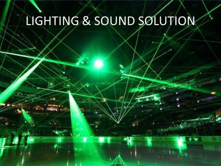 LIGHTING & SOUND SOLUTION. Cables All Kind Of Cable are available, For special requirement and regular requirement, Power Cable,Instrument Cable, Data.