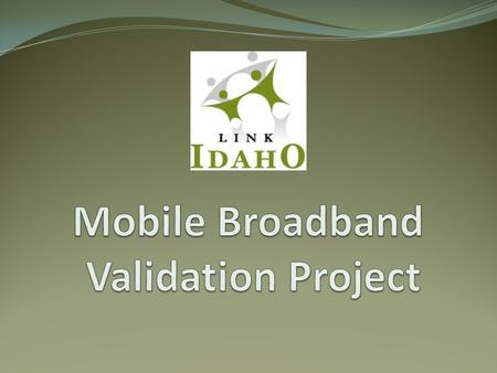State Broadband Mapping Program Mobile Wireless Providers.