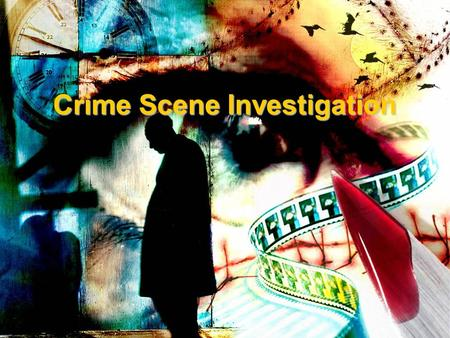 Crime Scene Investigation. What is Crime Scene Investigation? Crime Scene Investigation : –Main goal is to gather evidence that can be used to identify.