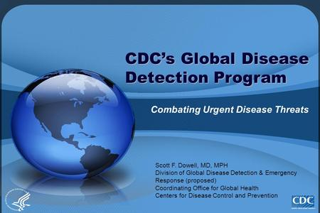 CDC's Global Disease Detection Program