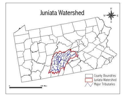 The JCWP The Juniata Clean Water Partnership (JCWP) The JCWP consists of: C itizens Non-profit conservation organizations County planning.