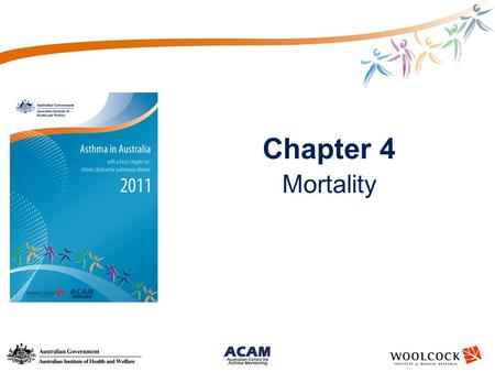 Chapter 4 Mortality. Long-term trends in death due to asthma by sex, all ages and people aged 5–34 years Source: AIHW National Mortality Database * Indicates.
