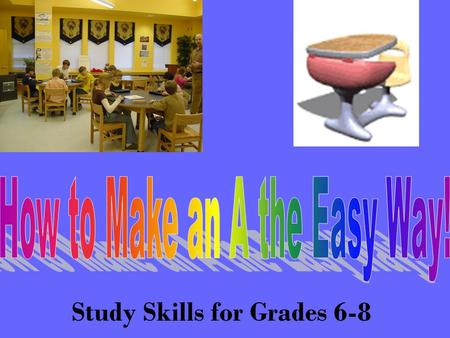 Study Skills for Grades 6-8. Before you read the story...take a quick look at the questions. They tell you what to look for as you read! If you see a.