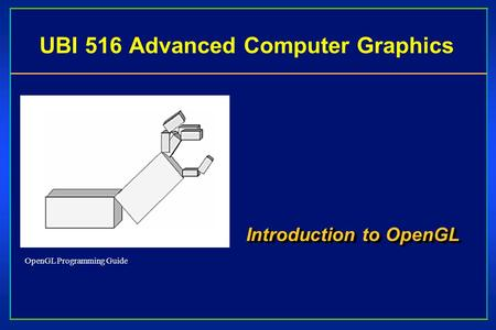 OpenGL programming guide - PDF Free Download
