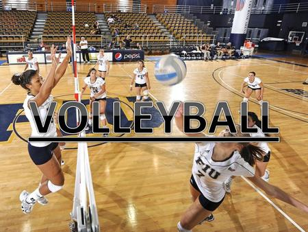 Volleyball is popular around the world. Over 800 million people play this sport. Its great fun to play and exciting to watch.