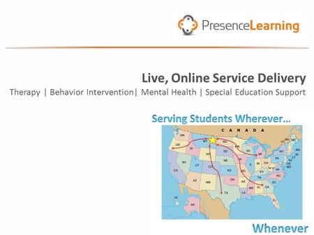 Live, Online Service Delivery Therapy | Behavior Intervention| Mental Health | Special Education Support.