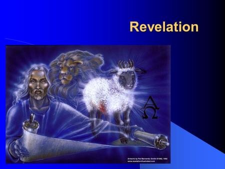 Revelation. Revelation Author: John Written from: Patmos Date: 95 AD? Literary form: Apocalyptic Symbolic language: Lamb, dragon, beast, Babylon, seven.