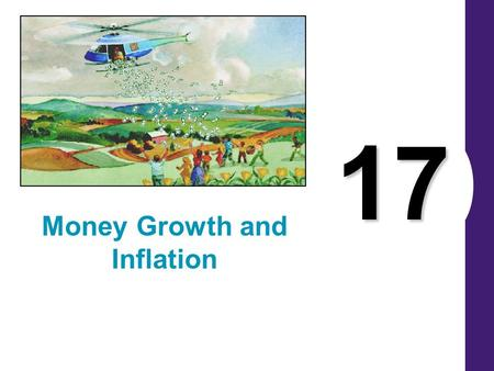 17 Money Growth and Inflation. THE CLASSICAL THEORY OF INFLATION Inflation: Historical Aspects Over the past 60 years, prices have risen on average about.