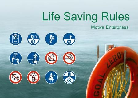 Life Saving Rules Motiva Enterprises.