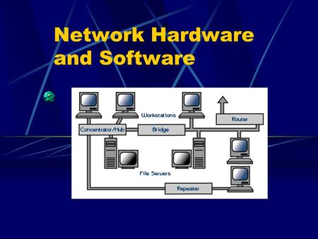 Network Hardware and Software. What is a network? A network consists of two or more computers that are linked in order to: share resources (such as printers.