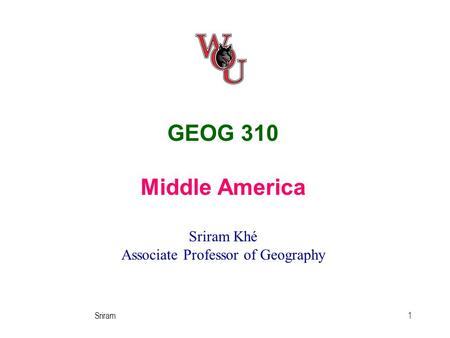 an introduction to the geography of central america Database of free geography essays  i-introduction central african republic is a landlocked country  geography seems to be one of those disciplines that.