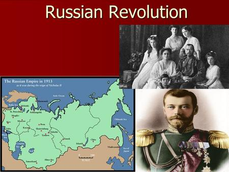 Russian Revolution. Causes of the Revolution Industrialization of Russia Industrialization of Russia –Used foreign investment to build factories –Poor.