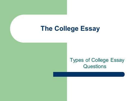 common college essay questions on college applications