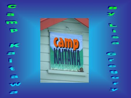Yes! Yes! Yes! The excitement whirled around me. It was school camp for the year 5's and 6's. This year we were going to Camp Kaitawa, Lake Waikaremoana.