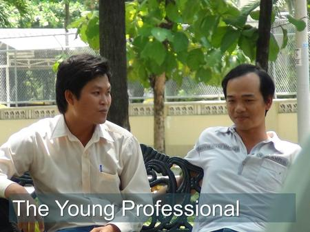 "The Young Professional. ""I work every day and most nights. If I don't they can find someone who will. I need this job and its benefits. I try to help."