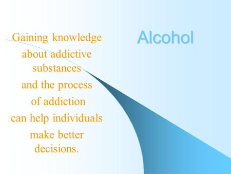 Addiction Essay - Essay Topics