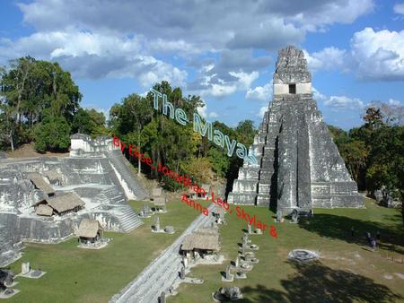 The Mayan Empire Claim: The Mayan Empire is classified as an empire. It has all the classifications of a civilization and an empire. Civilization The.