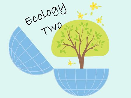 Ecology Two. Community Interactions Habitat- place where organism lives Niche- role and position a species has in its needs for food and shelter all interactions.
