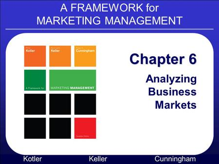 chapter 6 analyzing business markets Chapter 6 analysing business markets analyzing business markets 6-1 what is organizational buying.