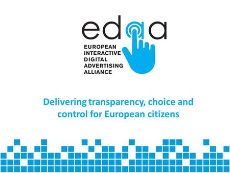 Delivering transparency, choice and control for European citizens.