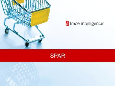 SPAR. A voluntary trading group. Stores owned and run by SPAR members, supplied and serviced by regional Distribution Centres, owned by SPAR SA Operational.