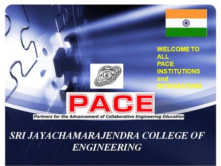 WELCOME TO ALL PACE INSTITUTIONS and INTEGRATORS.