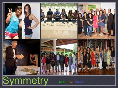 Heal. live. share. Symmetry. Home-Based Business Estimated 15.6 million involved in USA $154 billion worldwide sales in 2011 Average household saves nearly.