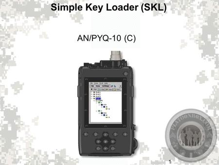 Simple Key Loader (SKL)