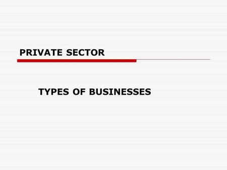 types of private sectors The second main function of private-sector workers in human services is to perform various types of counseling a final main focus of human services professionals in the private sector is in various forms of public relations and human resources positions whether it's as a sports psychologist, couples counselor, marketing.