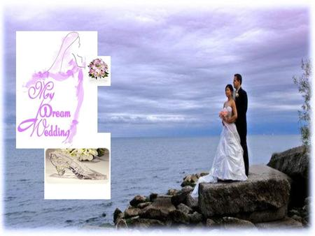 "Dream Wedding Ltd Main concept: Provide the young couples that want to ""tie the knot"" with all the essentials and even more for a perfect, fairytale wedding."