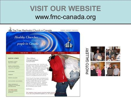 VISIT OUR WEBSITE www.fmc-canada.org. Building Partnerships Niamey is the capital of Niger, a city of over 1 million in Muslim French West Africa. Niamey.