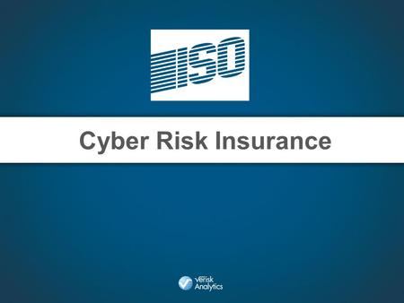 Cyber Risk Insurance. Some Statistics Privacy Rights Clearinghouse o From 2005 – February 19, 2013 = 607,118,029 records reported breached. Ponemon Institute.