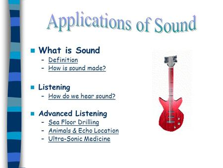 What Is Sound U2013DefinitionDefinition U2013How Is Sound Made?How Is Sound Made?