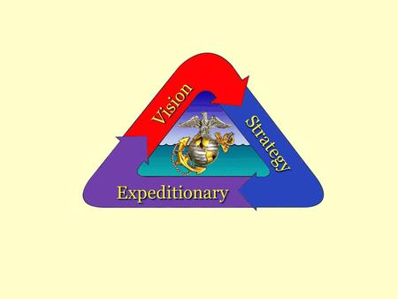 VisionVision StrategyStrategy ExpeditionaryExpeditionary.