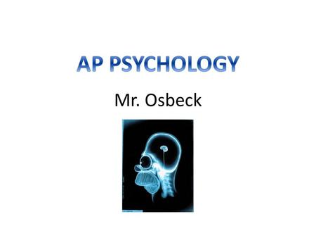 Mr. Osbeck. When I was a kid, I fell into a bees nest and was stung over 60 times I play the guitar, piano, trumpet, and saxophone I had the uncomfortable.