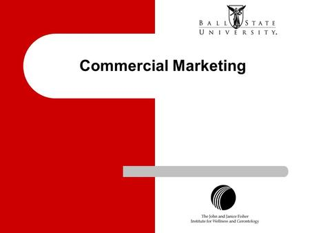 Commercial Marketing.