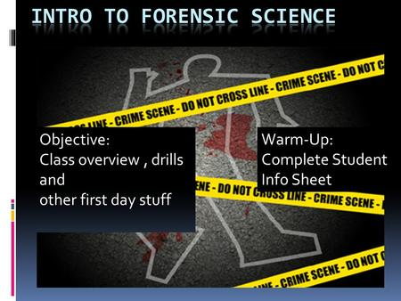 what is the scientific method and how is it applied to criminal investigation by criminal investigat The activities and processes of criminal investigation can attract  the circumstances of each case should be considered and common sense applied to the decision to.