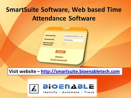 SmartSuite Software, Web based Time Attendance Software Visit website –