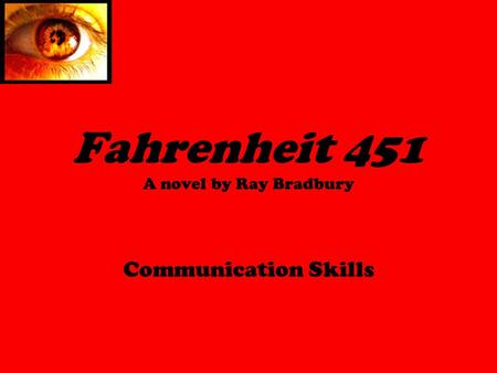 an analysis of a dystopian society in fahrenheit 451 a novel by ray bradbury And find homework help for other fahrenheit 451 questions at enotes  ray  bradbury's dystopian society in the novel fahrenheit 451 lacks many elements  that  with quick results and lacks the ability to methodically analyze anything in  life.