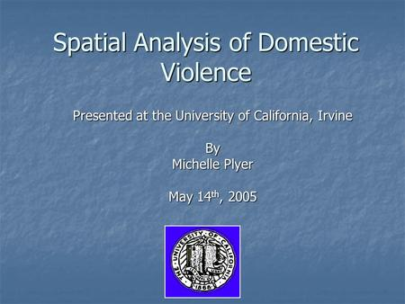 An analysis of domestic violence today