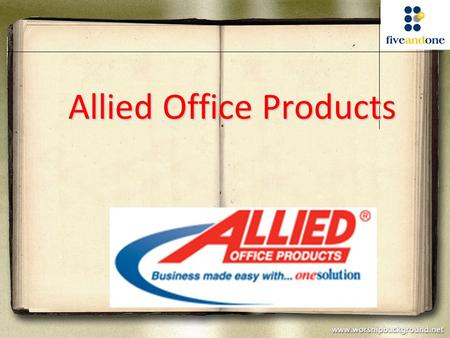 Allied Office Products. 1.NADIA NILA SARI (M987Z250) 2.Nguyen Pham Nhut Thien 阮範日禪 ( M987Z240) 3. Li merlina 李美靈 ( M987Z246)