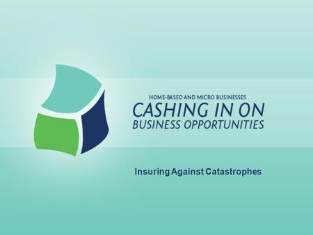 Insuring Against Catastrophes. Lesson Goals: Assess risks Determine and develop risk management strategies Define insurance types and how they relate.