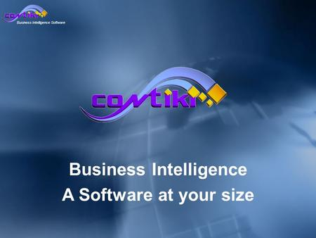 Business Intelligence Software Business Intelligence A Software at your size.