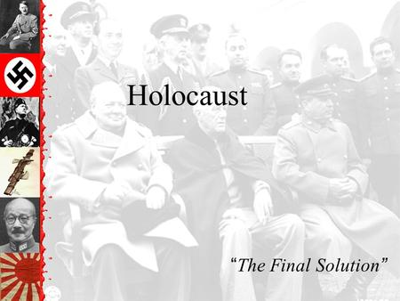 "Holocaust ""The Final Solution"". Horrors of the Holocaust Exposed."
