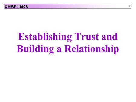 the essentials of negotiations and building trust Care advocacy, how to prepare for a negotiation with a health care provider, as  well as key  trust that is essential to establishing a lasting working relationship.