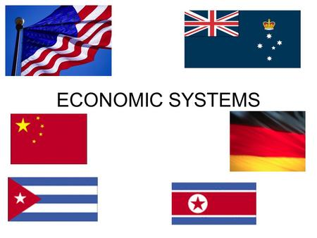 ECONOMIC SYSTEMS. ALL economic systems Organized ways of providing for wants and needs of a country's people Answer the 3 basic economic questions Have.
