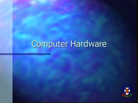 Computer Hardware. What Is a Computer A data processing machine operated automatically under the control of a list of instructions (called a program)